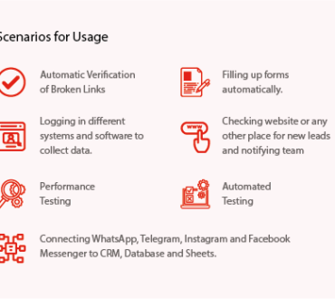 Browser Automation –Automating Website Actions and Interactions
